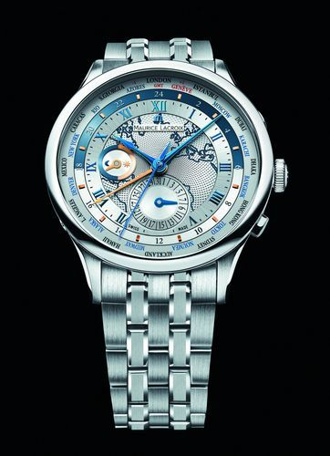 Часы Maurice Lacroix Masterpiece Worldtimer