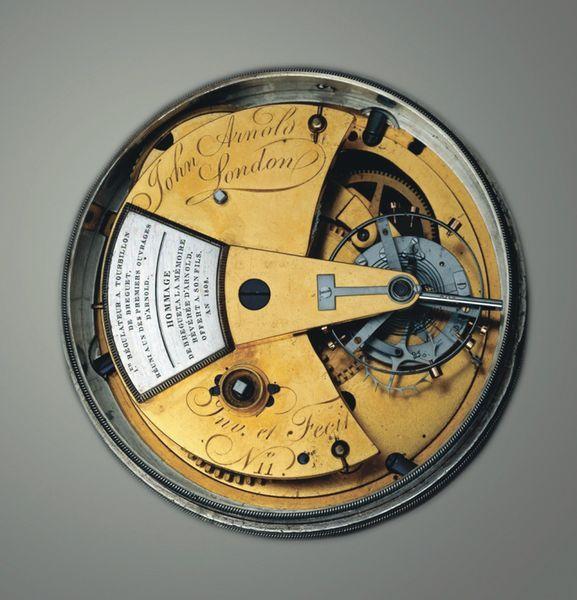 Турбийон с хронометровым спуском Chronometer 11 — результат дружбы Авраама-Луи Бреге и Джона Арнольда