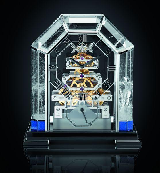 Премьера SIHH-2015: настольные часы реплики Metiers d'Art Arca, которые будут представленны только в бутиках Vacheron Constantin