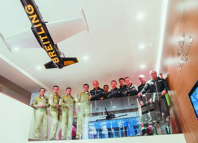 Breitling открыл бутик на Петровке