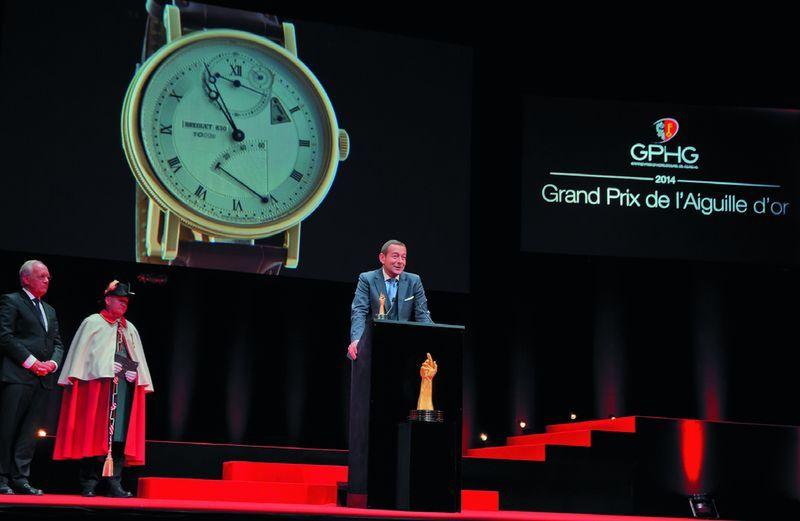 reguet Classic Chronometrie получили «Золотую стрелку»