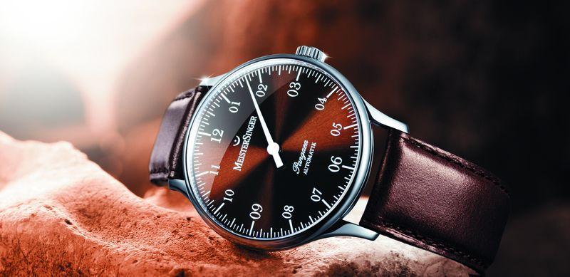Однострелочные часы MeisterSinger Pangaea