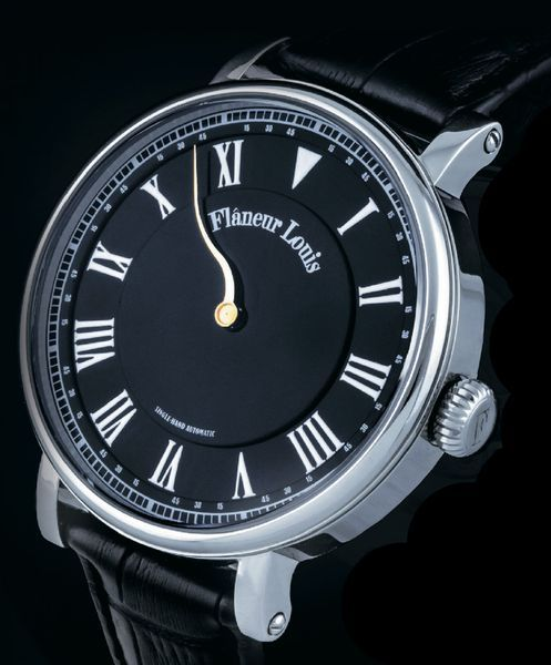 Новый бренд однострелочных часов Flaneur Louis