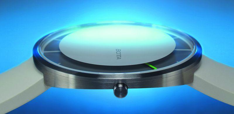 Botta Design Nova, показывающая отрезки времени,