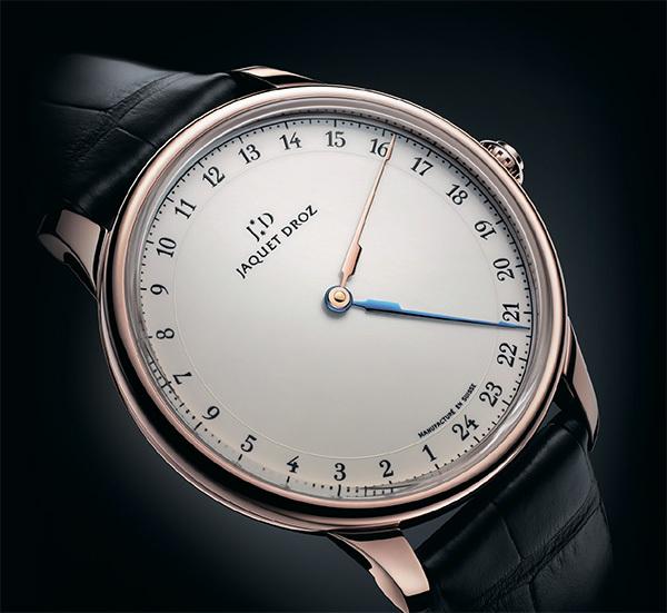 Однострелочные часы Jaquet Droz
