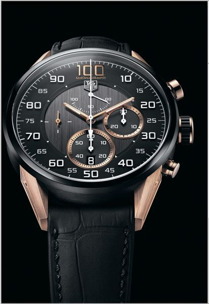 Часы TAG Heuer Carrera Mikrograph 1/100th Second Chronograph Avant-Garde