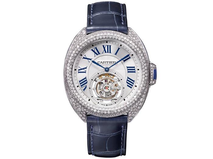 Cartier Cle de Cartier Flying Tourbillon с калибром 9452 MC в корпусе 35 мм