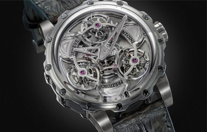 Лучшие инновационные часы и приз зрительских симпатий: Tourbillon of Tourbillons от Antoine Preziuso