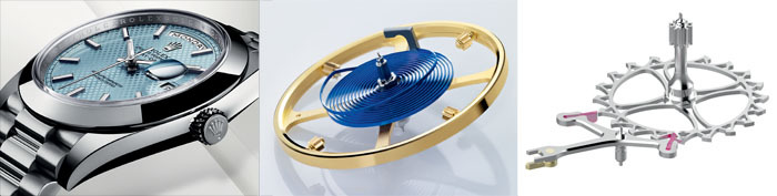 Rolex Oyster DayDate 40 со спиралью Parachrom и новым спуском Chronergy