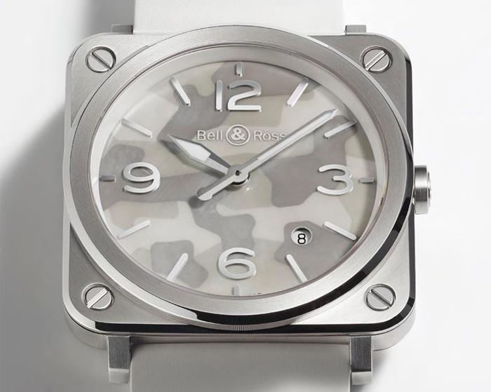 Дамские часы Bell & Ross BR S Camouflage