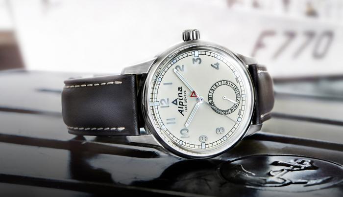 Классические часы Alpina Alpiner Manufacture