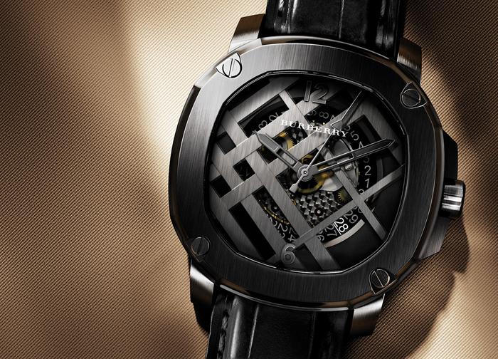 Дизайнерские часы Burberry Britain Icon Check for Men