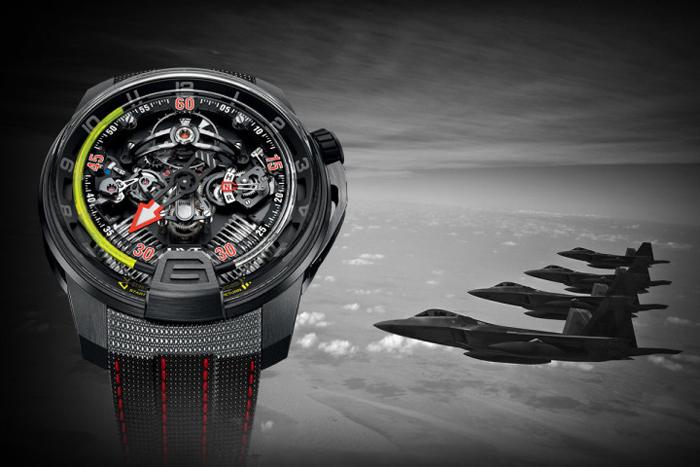 Дизайнерские часы HYT H2 Aviator