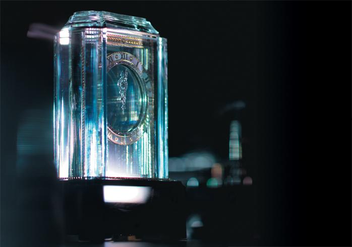 «Model A» Mystery Clock были представлены Cartier в 1912 году