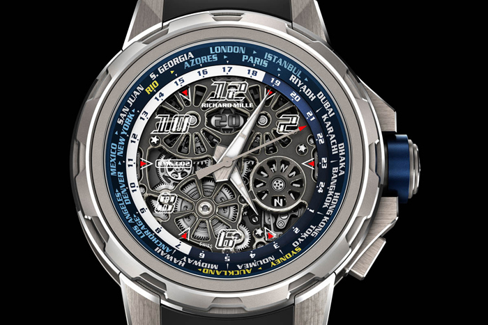 Сложные часы Richard Mille RM 63-02 World Timer Automatic