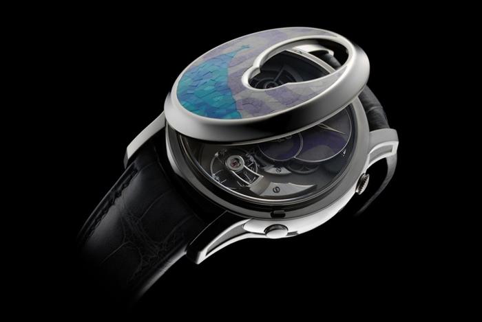 Дизайнерские часы Romain Gauthier Logical one Secret Kakau Hoefke