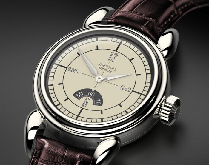 Классические часы Struthers of London Morgan II