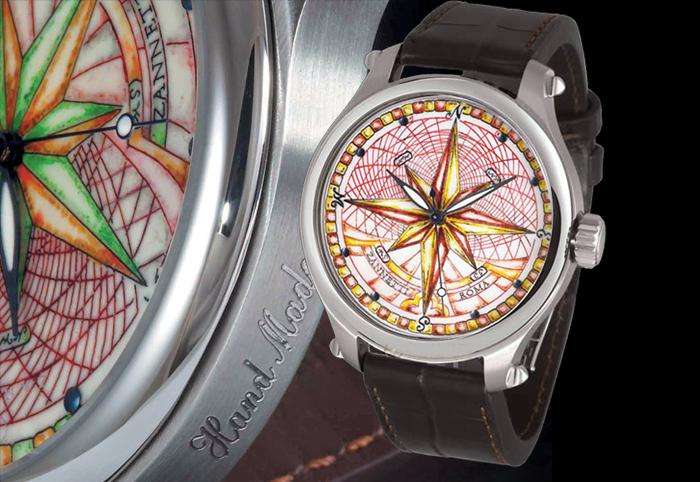Дизайнерские часы Zannetti Magnificum Compass Rose