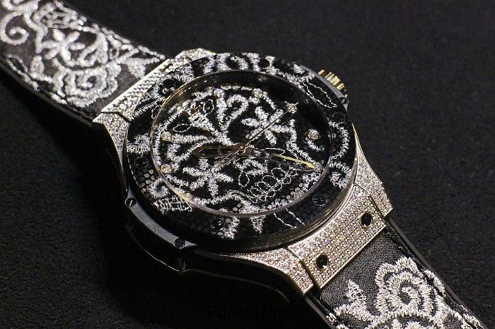 Лучшие женские часы: Big Bang Broderie от Hublot