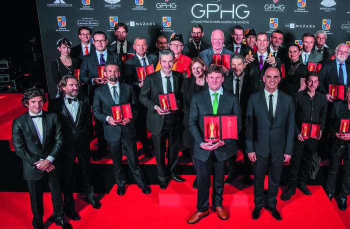 Лауреаты XV Grand Prix d'Horlogerie de Geneve