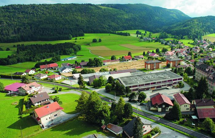 Департамент исследований и разработок Carl F. Bucherer в Сен-Круа