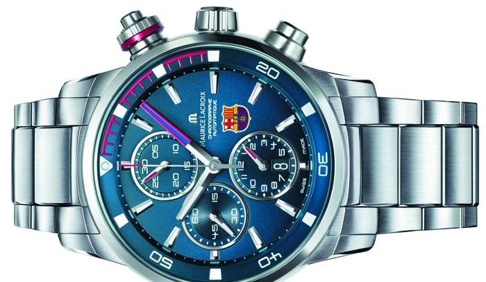 Выбор часов: Maurice Lacroix FC Barcelona Pontos S