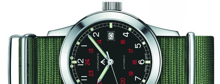 Выбор часов: Longines Heritage Military COSD