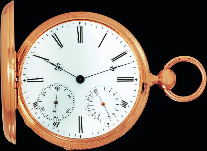 Карманные часы Czapek & Cie № 3430