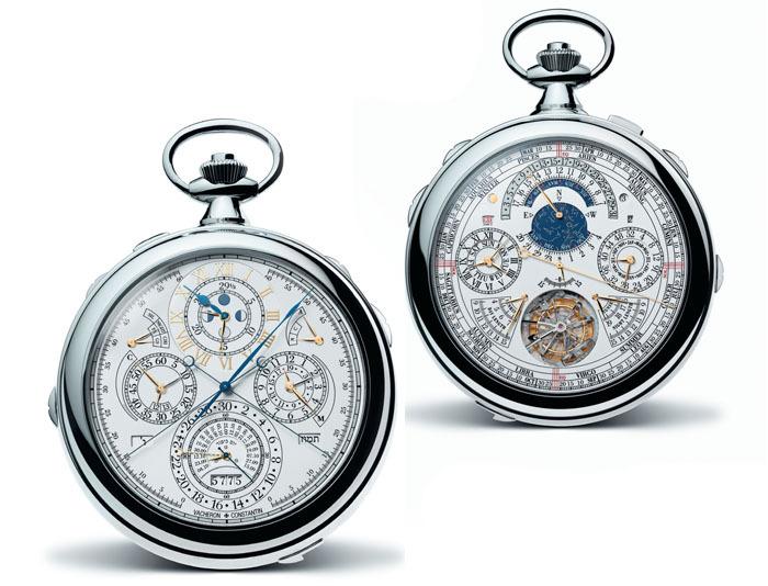 Самые сложные часы в мире Vacheron Constantin 57260