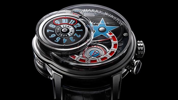 Сложные часы Harry Winston Opus 14