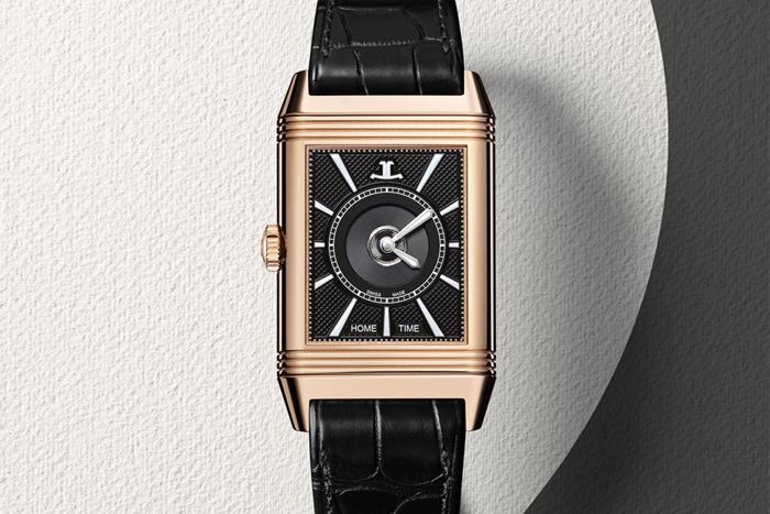Reverso Classic Large Duoface в корпусе из розового золота