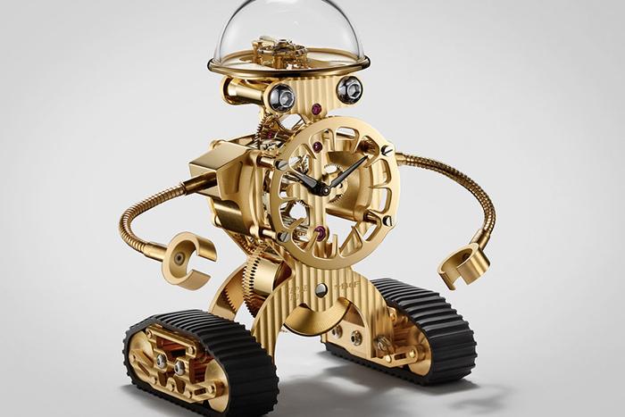 MB&F Sherman, новый робот, изготовленный вместе с L'Epee 1839