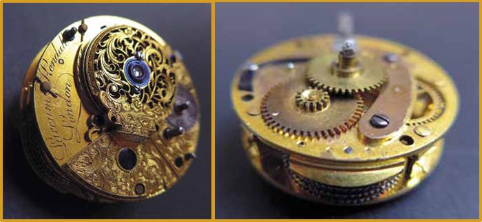 Larcum Kendall механизм произведен в Лондоне в 1765 году
