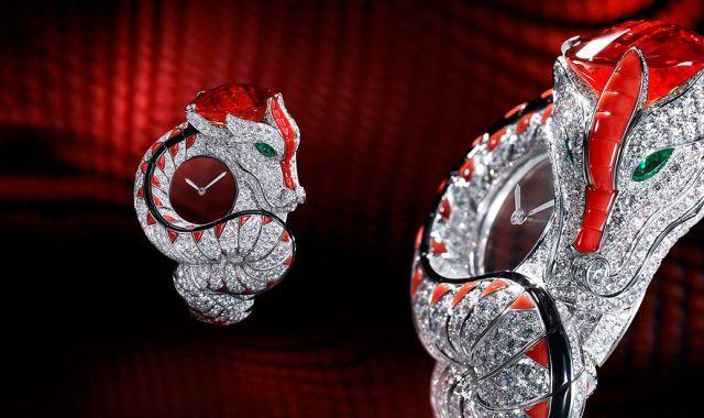 Cartier Dragon Mysterieux калибр 9981