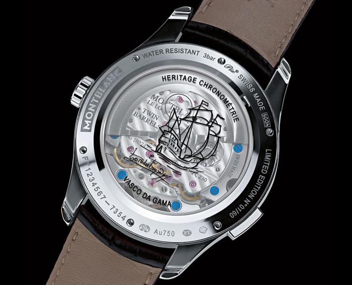 Лимитированная серия 2015 года Montblanc Heritage Chronometrie ExoTourbillon