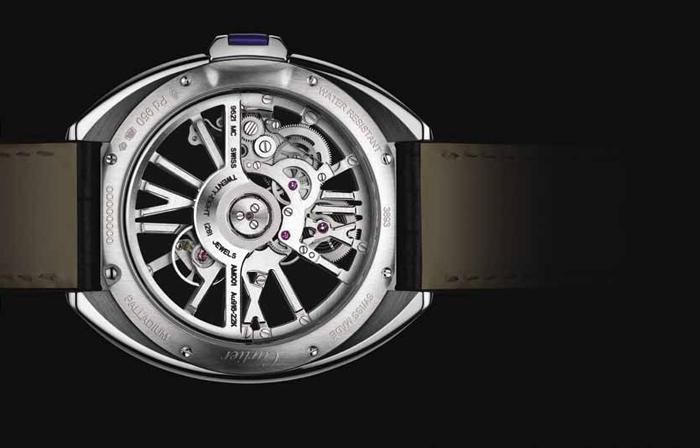 Cartier Cle de Cartier Automatic Skeleton Реверс