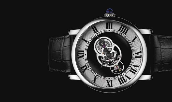 Cartier Rotonde de Cartier Astromysterieux с механизмом 9462 MC