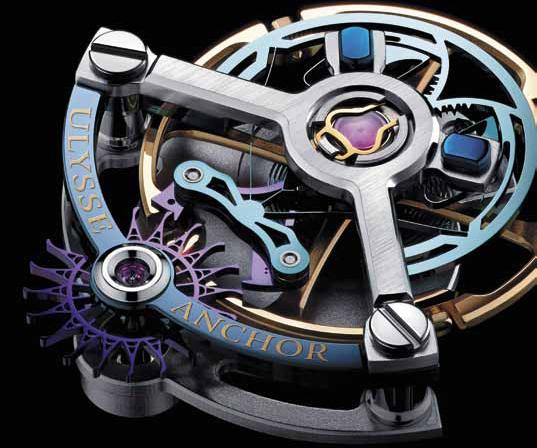 Часы Ulysse Nardin Ulysse Anchor Tourbillon Blue