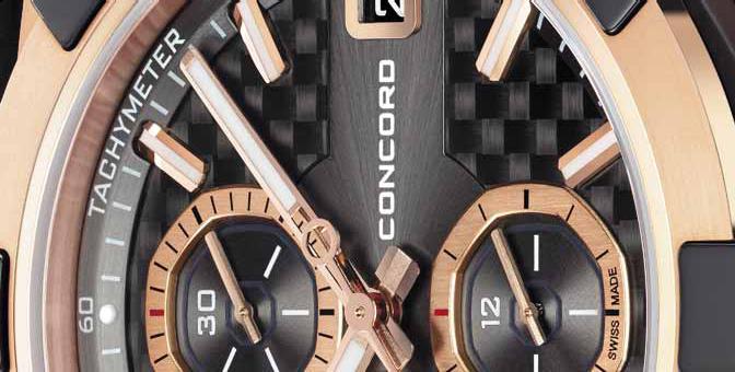 Часы Concord C1 Chronograph Rose Gold