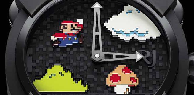 Часы RJ-Romain Jerome RJ X Super Mario Bros