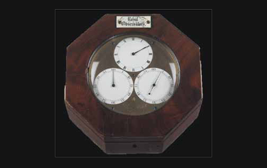 Морской хронометр K3 Ларкума Кендалла выпущен в 1774 году