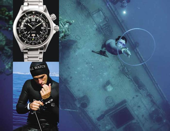 Engineer Master II Diver Worldtime, корпус 45 мм из стали