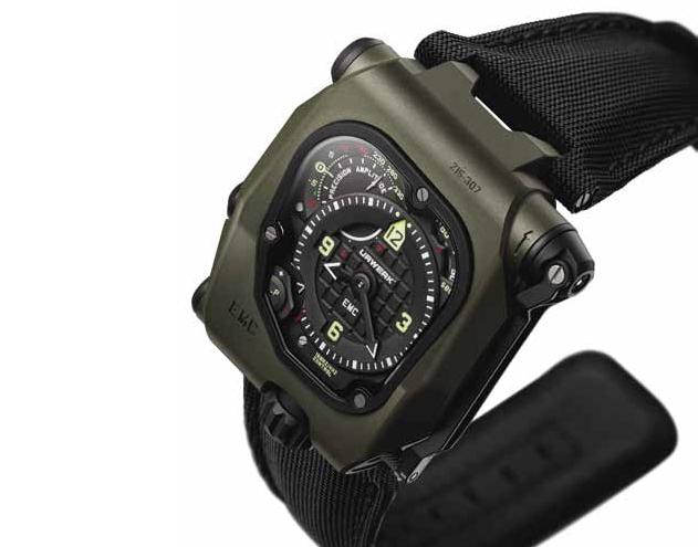 Urwerk EMC Time Hunter с электромеханическим управлением