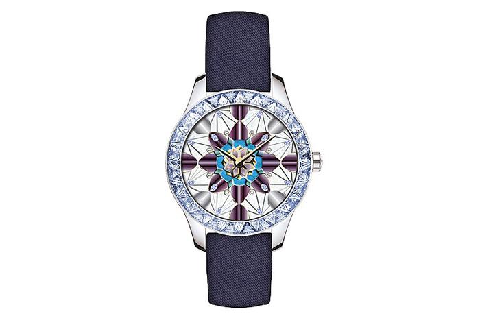 Dior Grand Soir KaleiDoscope №1, с мозаикой из сапфиров, бриллиантов и бирюзы