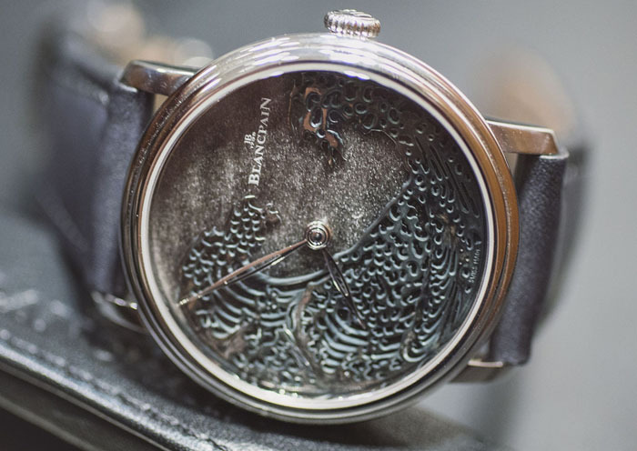Blancpain Villeret Metier d'Art «Большая волна» Хокусая в технике Urushi