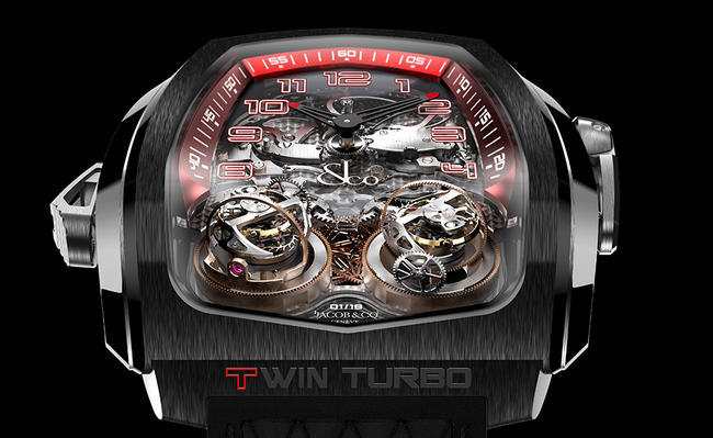 Jacob&Co Twin Turbo Twin Triple Axis Tourbillon Minute Repeater 2016