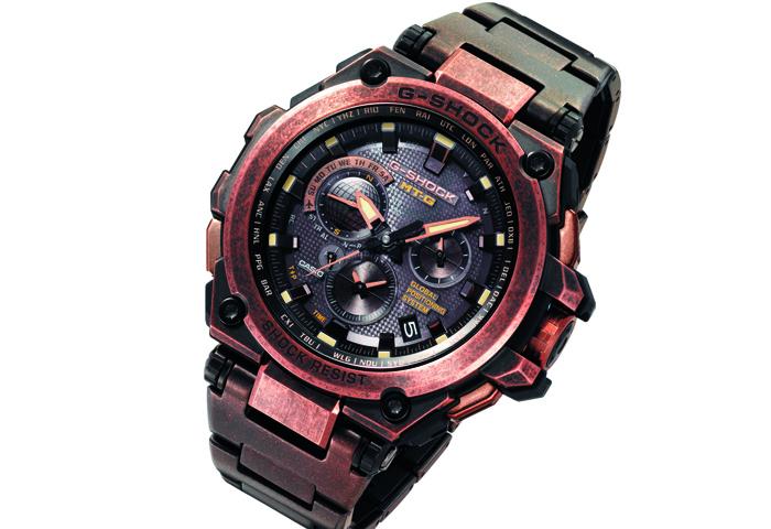G-Shock-MTGG1000AR с эффектом искусственной ржавчины