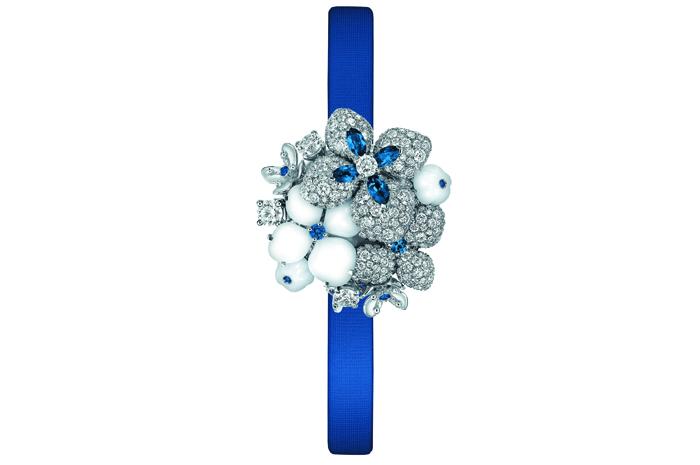 Chaumet Hortensia, часы с секретом в стиле Млечного Пути
