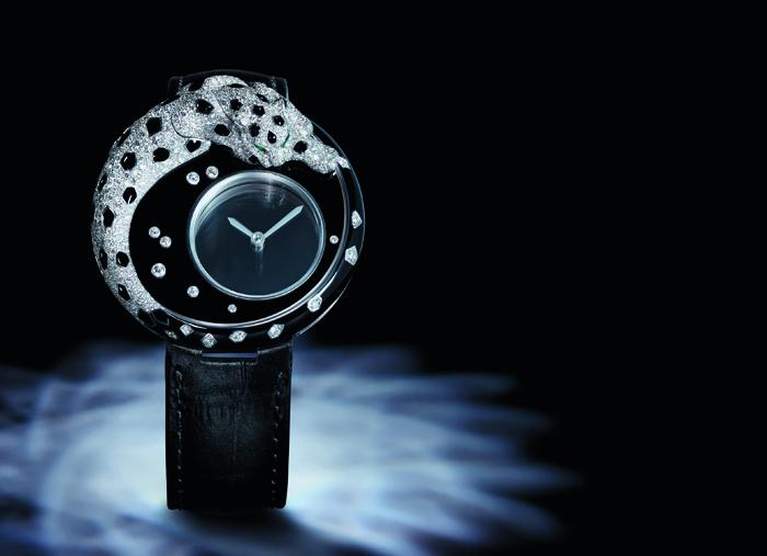 Panthere Mysterious Hour Cartier с легендарным калибром 9981 MC