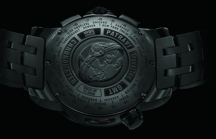 Часы Carl F. Bucherer Patravi TravelTec Black